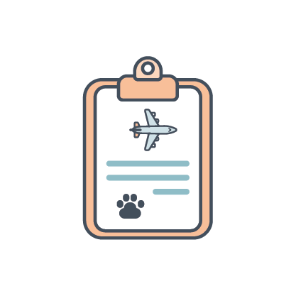 travel paperwork icon